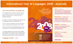 Australian website for International Year of Languages 2008
