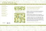Mosaic by Ros Bradley