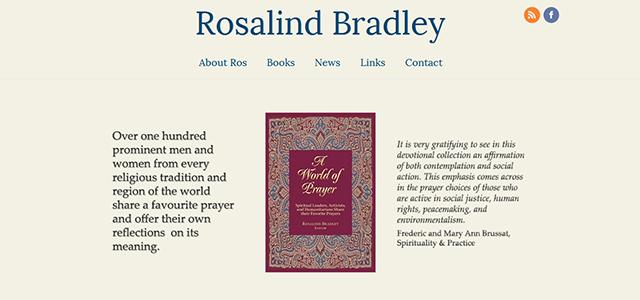 Ros Bradley website