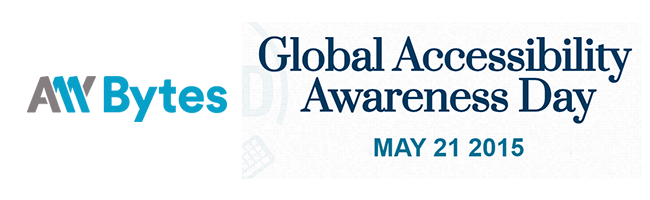 Global Accessibility Awareness Day 2015