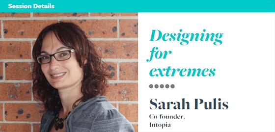 Sarah Pulis talk